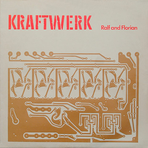 The UK version of the cover for Ralf und Florian (1973)